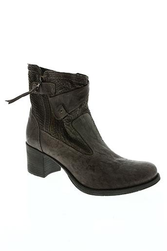 nero giardini chaussures femme de couleur marron