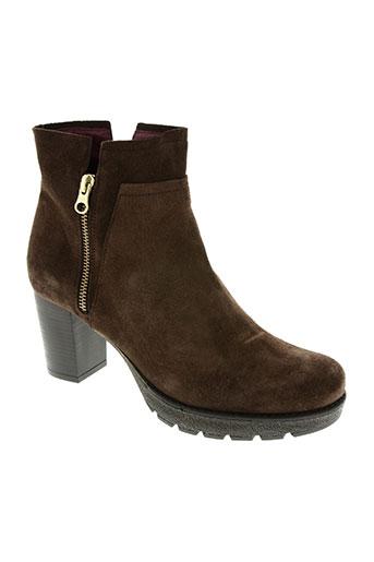 patricia miller chaussures femme de couleur marron