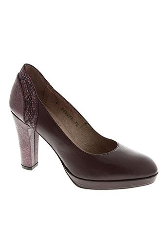 gadea chaussures femme de couleur rouge