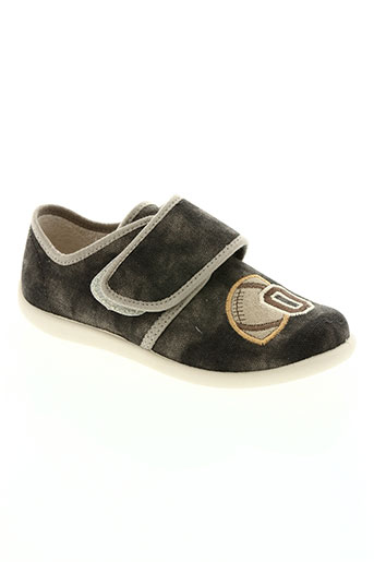 bellamy chaussures garçon de couleur gris