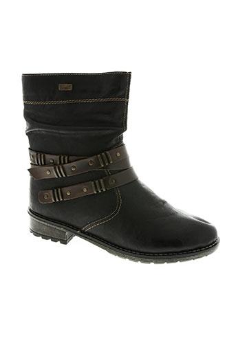 rieker chaussures fille de couleur marron