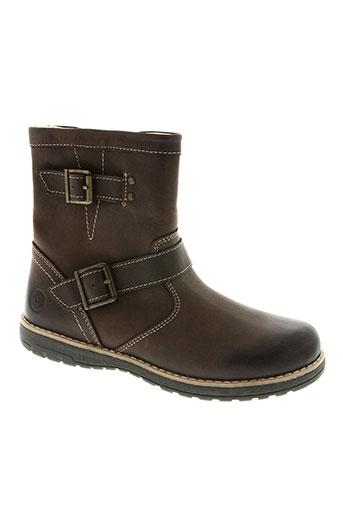 primigi chaussures garçon de couleur marron