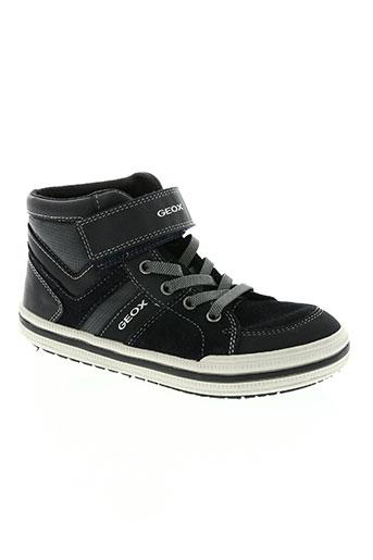 geox chaussures garçon de couleur bleu
