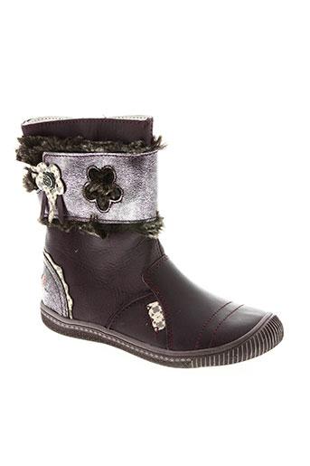 gbb chaussures fille de couleur violet