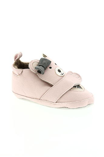 shoo pom chaussures fille de couleur rose