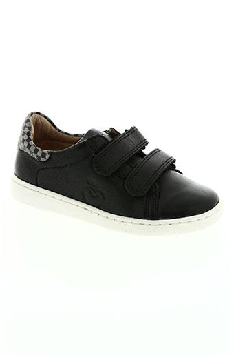 shoo pom chaussures enfant de couleur noir