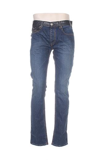 dirk bikkembergs jeans homme de couleur bleu
