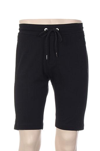 dirk bikkembergs shorts / bermudas homme de couleur noir
