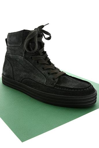 hogan chaussures homme de couleur noir