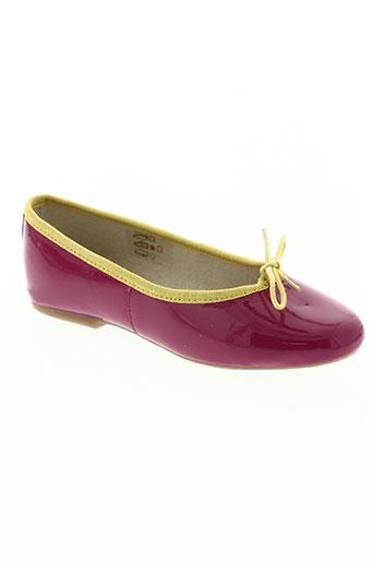 hirica chaussures fille de couleur rose