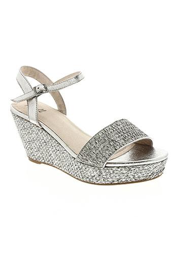 axell chaussures femme de couleur gris