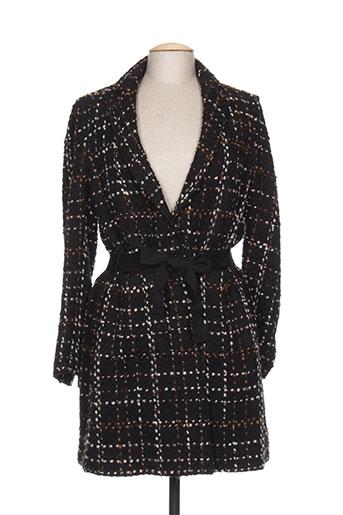 diega manteaux femme de couleur noir