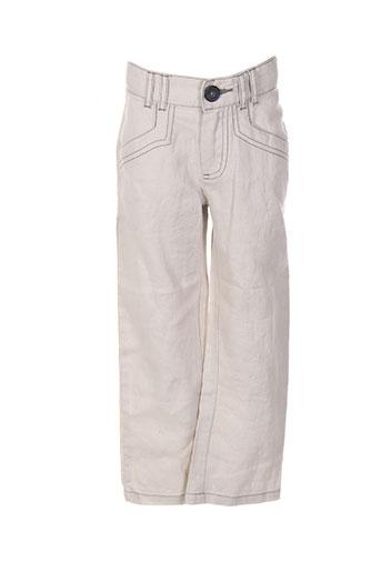 jean bourget pantalons garçon de couleur gris