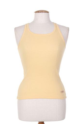 chipie t-shirts femme de couleur orange