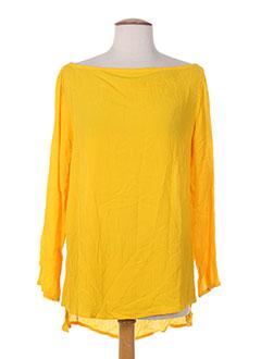 Blouse manches longues jaune BAKKER pour femme