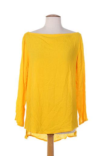 bakker chemises femme de couleur jaune