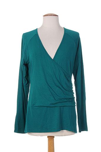 king louie t-shirts femme de couleur vert