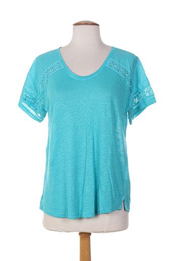 white stuff t-shirts femme de couleur bleu