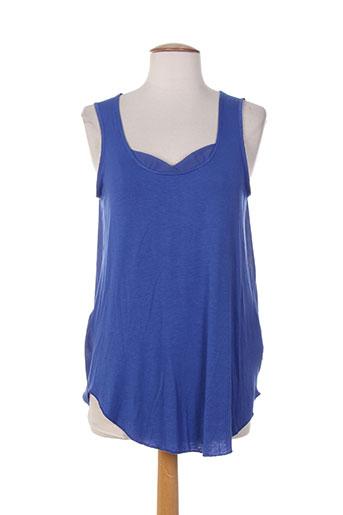 skunkfunk t-shirts femme de couleur bleu