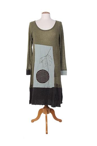 ian mosh robes femme de couleur vert