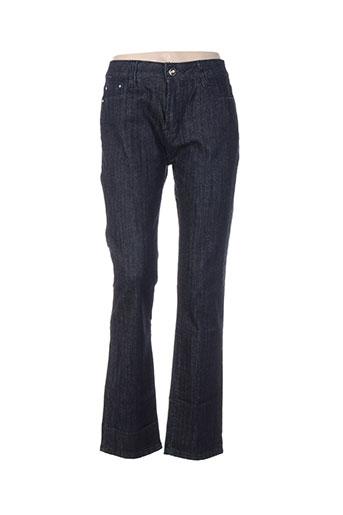reals jeans jeans femme de couleur bleu