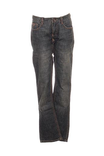rags jeans fille de couleur bleu