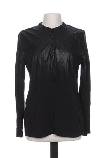 yaya chemises femme de couleur noir