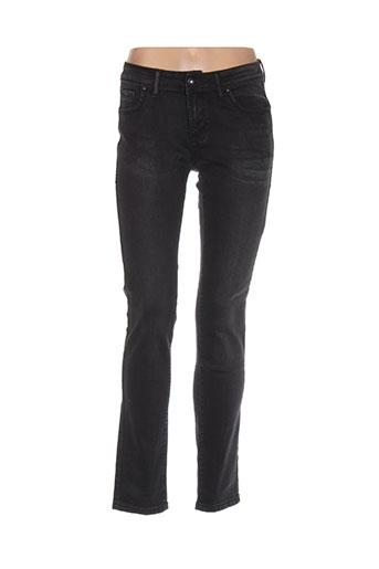 onado jeans femme de couleur gris