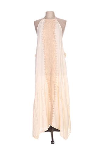 sundress robes femme de couleur beige