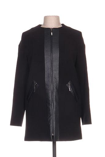 Veste casual noir ARTIGLI pour femme