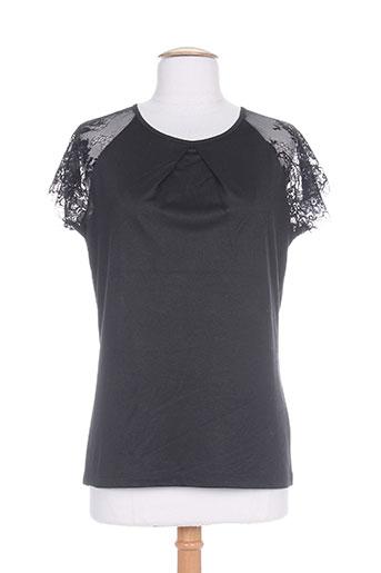 marble chemises femme de couleur noir