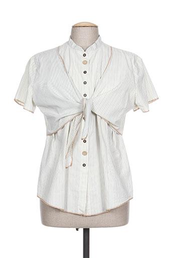 rosa rosam chemises femme de couleur beige