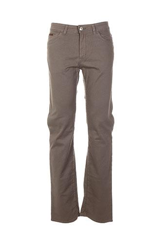 trussardi jeans jeans homme de couleur beige