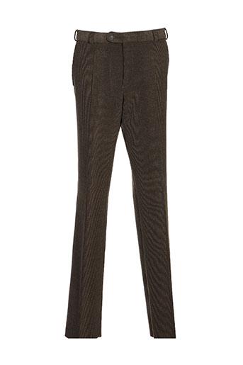 brühl pantalons homme de couleur vert