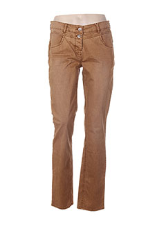 Pantalon casual marron TOM TAILOR pour femme