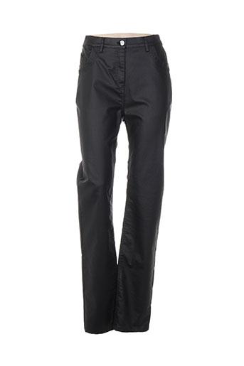 griffon pantalons femme de couleur noir