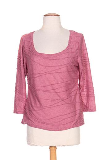 amari t-shirts femme de couleur rose