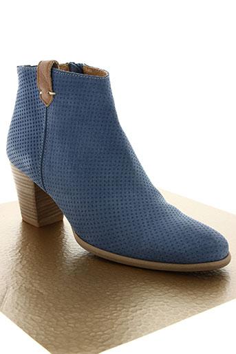 mkd chaussures femme de couleur bleu