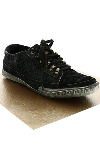 kadopa chaussures homme de couleur noir