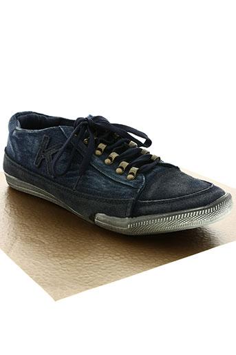 kadopa chaussures homme de couleur bleu