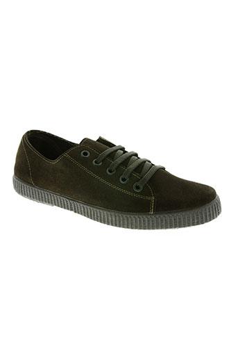 dpc chaussures femme de couleur vert