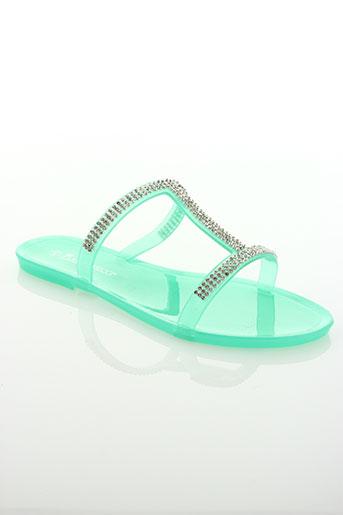 ilario ferucci chaussures femme de couleur vert