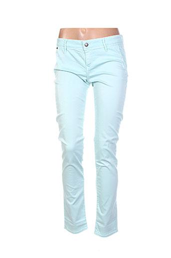 Pantalon casual vert LEE COOPER pour femme