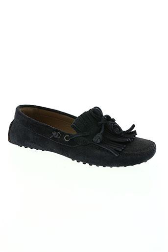 voyagers chaussures femme de couleur bleu