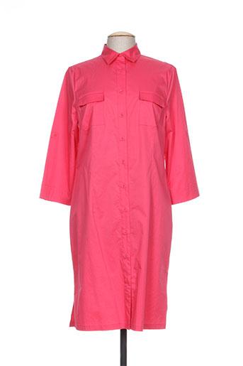 devernois robes femme de couleur rose