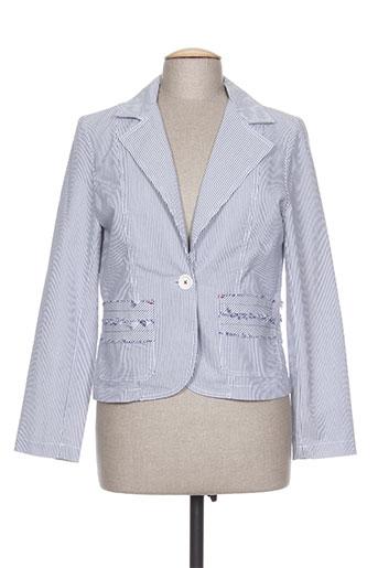 Veste chic / Blazer bleu CAROLE RICHARD pour femme