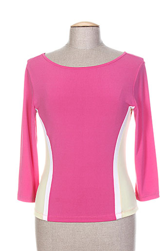 giorgia netti chemises femme de couleur rose