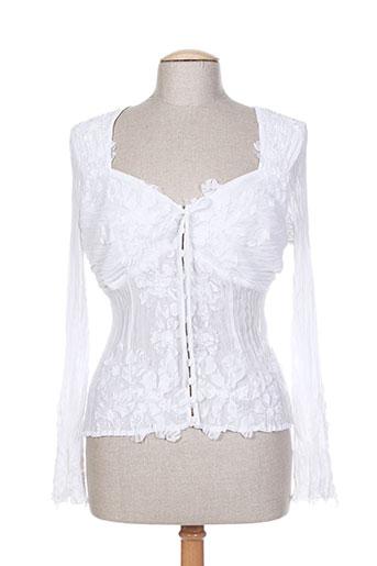 blanc nature chemises femme de couleur blanc