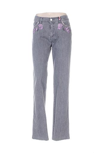 aquajeans jeans femme de couleur gris