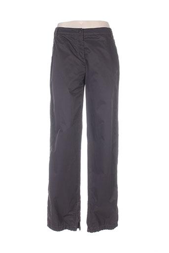mariella rosati pantalons femme de couleur marron